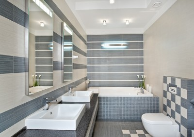 Modern bath room design