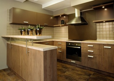 Elegant and luxury kitchen interior design