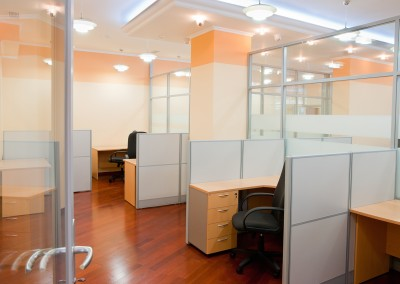 Modern office interior workplace design