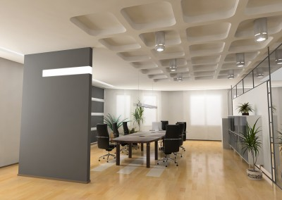 Modern meeting room interior design