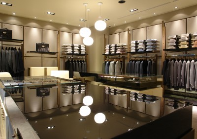 Luxury retail shop design